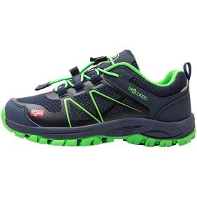 TROLLKIDS Sandefjord Hiker Low Shoes Kids navy/green